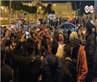 فيديو| الأغاني الوطنية تشعل احتفالات أهالي عابدين بنتيجة الاستفتاء على التعديلات الدستورية