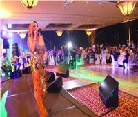 صور| إطلالة جريئة لـ«دومينيك حوراني» في حفل الأردن