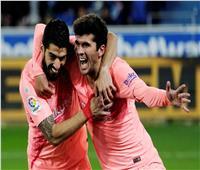 فيديو| برشلونة يعبر ألافيس ويقترب من التتويج بالدوري الإسباني