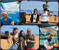 صور| حفلات ضخمة لـ«الحريري» في «السخنة» بتوقيع العسيلي وفيدو ومارسيلو