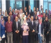 شباب جامعة المنصورة يزور مكتبة الإسكندرية