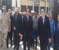 محافظ شمال سيناء يفتتح مكتب لرعاية أسر الشهداء والمصابين بالعريش