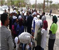 بدء فعاليات اليوم الرابع من الأسبوع البيئي بجامعة المنيا