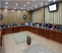 محافظ المنوفية يعقد الاجتماع الشهري للمجلس الإقليمي للصحة