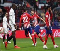 فيديو| أتلتيكو مدريد يفوز على فالنسيا ويؤجل تتويج برشلونة بلقب الليجا
