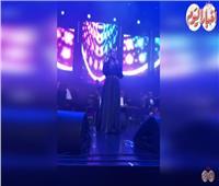 فيديو | لمياء الزايدي تتألق بأغاني كوكب الشرق في حفل سميرة سعيد