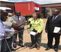 تسليم مساعدات مصرية إلى بوروندي