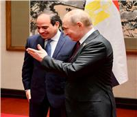 «بوتين» يهنئ «السيسي» بنجاح عملية الاستفتاء على تعديل الدستور | صور