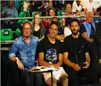 حسام غالي وجدو في نهائي بطولة الجونة الدولية للاسكواش