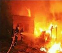 حريق هائل بشركة كهرباء جنوب الدلتا بطنطا