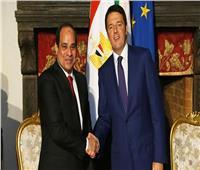 «السيسي» يلتقي رئيس وزراء إيطاليا على هامش منتدى «الحزام والطريق»
