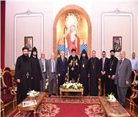 وفد الكنيسة الأرمينية يهنئ البابا تواضروس بعيد القيامة المجيد