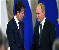 رئيس الوزراء الإيطالي يدعو بوتين للعمل معًا من أجل تسوية الأزمة الليبية