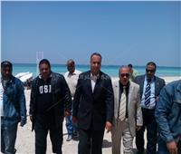 سكرتير مساعد الإسكندرية: شواطئ وحدائق العجمي جاهزة لاستقبال شم النسيم