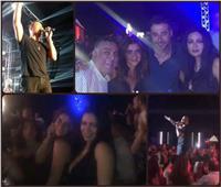 فيديو| رانيا يوسف وغادة عادل «على واحدة ونص» في حفل «الهضبة»