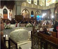 كبار رجال الدولة يصلون الكاتدرائية المرقسية لحضور قداس عيد القيامة المجيد