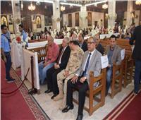 الدقهلية تشهد احتفال المسيحيين بعيد القيامة المجيد