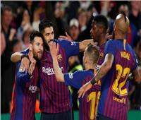 """""""ميسي"""" يقود برشلونة للتويج بلقب الليجا الإسبانية"""