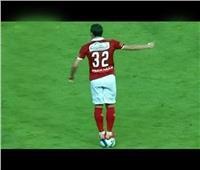 شاهد..تعليق مدرب شباب الزمالك على وقفة لاعب الأهلي على الكرة
