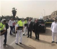 مساعد وزير الداخلية يتفقد تأمينات الخدمات المرورية بالطرق