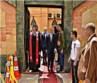 صور| محافظ بورسعيد يزور الكنائس ويهنئ الأقباط بعيد القيامة