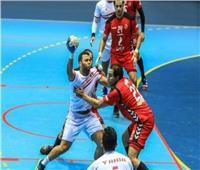 دوري كرة اليد| الأهلي يفوز على الزمالك في الشوط الأول
