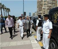 إجراءات مشددة لتأمين احتفالات شم النسيم بالإسكندرية