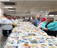 مستشفى الأطفال بجامعة المنصورة تحتفل يشم النسيم