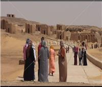 شم النسيم 2019  أهالي الوادي الجديد يستمتعون بشم النسيم في أحضان منطقة البجوات الأثرية