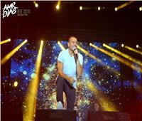شم النسيم 2019  عمرو دياب ينشر صورًا من حفل الشروق