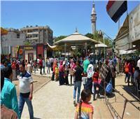 شم النسيم 2019| زحام في الشوارع والميادين بسوهاج احتفالا بشم النسيم رغم حرارة الجو
