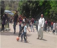 شم النسيم 2019| لعب الكرة والملاهي للأطفال في حديقة الحيوان