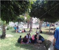 شم النسيم 2019   توافد المواطنين على حدائق شبرا الخيمة احتفالا بأعياد الربيع