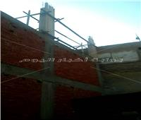 عبد الظاهر: إيقاف أعمال البناء لعقار مخالف في المعادي