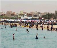 شم النسيم 2019| إقبال على الشواطئ الخاصة في السخنة ورسوم مخفضة للعائلات
