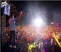 شم النسيم 2019| عمرو دياب يشكر جماهيره بعد حفل «الجامعة البريطانية»