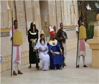 شم النسيم 2019  عرض مسرحي مبهر بالقرية الفرعونية احتفالا بالربيع