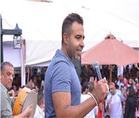 شم النسيم 2019  عدوية يتألق بحفل مصر الجديدة