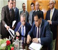 بالصور ..مصر توقع عقد مع أسبانيا لشراء 6 قطارات سكة حديد بتكلفة 157 مليون يورو