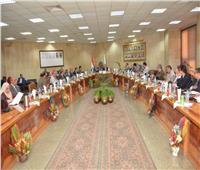 محافظ أسيوط تعزيز مجالات التعاون المشترك مع الجامعة