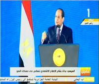 فيديو| السيسي عن الاستفتاء: «القضية هي بقاء مصر وليست بقائي»