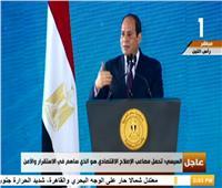 فيديو  عن الاستفتاء على الدستور.. السيسي للعمال:«المصريون جبروا بخاطري»