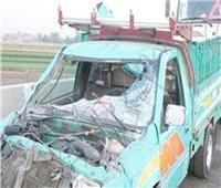 إصابة ضابط وأمين شرطة و3 آخرين في حادث تصادم بالبحيرة