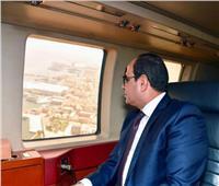 عاجل| السيسي يتفقد مشروعات تنمية وتطوير ميناء الإسكندرية ومحور روض الفرج