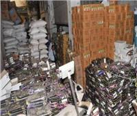 ضبط ٣ طن من السلع فاسدة ومجهولة المصدر في حملات تموينية
