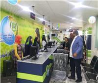 رئيس شركة مياه أسيوط يفتتح مركزاً لخدمة العملاء بمنطقة صدفا