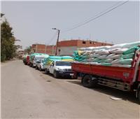 توريد ٧٣ ألف طن قمح لصوامع وشون محافظة الشرقية