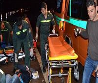 مصرع محامي وزوجته بحادث تصادم في بني سويف