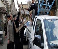 حملة مكبرة لشرطة المرافق بدوائر أقسام 7 مراكز في الجيزة