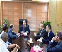 نائب محافظ أسوان يناقش مخطط تطوير منطقة فيلة